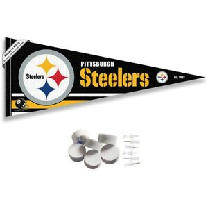 Pittsburgh Steelers Wall Banner Pennant Flag