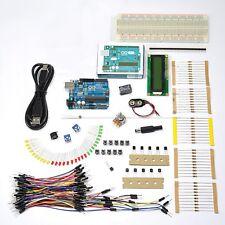 STARTER KIT ARDUINO UNO Rev.3 con microcontrollore ATmega328 - ART. CU01 WW