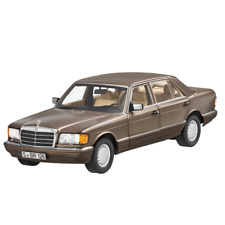 Mercedes Benz V 126 560 Sel Longue Version Impala Brun 1:18 Neuf Emballage