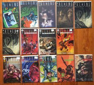 Dark Horse Aliens comic books 14 issue lot 1988 1989 Berserker Music Spears Pred
