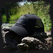 Ridgemonkey Black on Black Baseball Trucker Cap NEW Carp Fishing Ridge Monkey