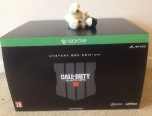 CALL OF DUTY BLACK OPS 4 MYSTERY COLLECTORS Zombies Weapons BOX EDITION XBOX ONE