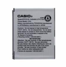 Casio 3.7V BTR751B Original OEM Replacement Battery GzOne Ravine C751 1140mAh