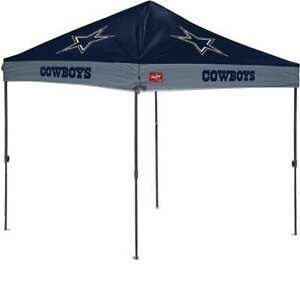 Dallas Cowboys 10 X 10 Canopy - Tailgate Shelter Tent with Carry Bag