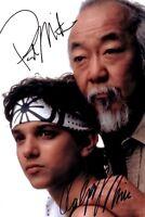 Karate Kid - Pat Morita - Ralph Macchio - Repro / DRUCK - F 14 UH
