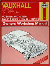 Haynes - Opel Viva Soupapes en tête / HC Série / 1970 à 1979 - Manuel Atelier
