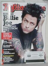 ROLLING STONE MAGAZINE MARCH 14 2013 GREEN DAY CLAPTON BOWIE ASSAULT RIFLES GOOD