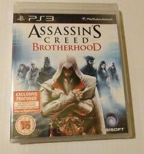 Assassin's Creed Brotherhood 4 PS3 New Sealed UK PAL Sony PlayStation 3