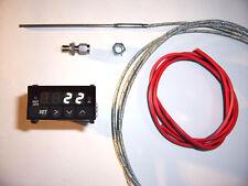RSR Abgastemperatur Anzeige SET WEIß Digital EGT Gauge 16V G60 VR6 Turbo 1,8T S4