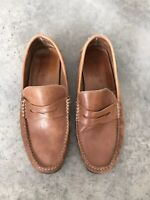 Florsheim Leather Mens Driving Penny Loafers Shoes B SZ 11