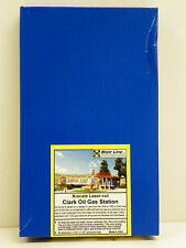 "BLAIR LINE N SCALE U/A ""CLARK GAS STATION"" CRAFTSMAN MODEL KIT #087"
