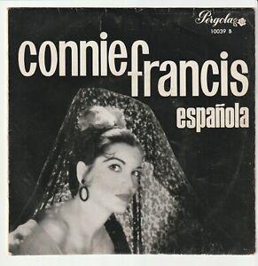 """Connie FRANCIS - Todo el amor del mundo + 3 - EP 45T (7"""") vinyle SPAIN 1965"""