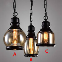 Glass Pendant Light Home Modern Ceiling Lights Kitchen Lamp Bar Pendant Lighting