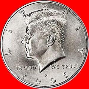 2005 P&D Satin Finish Kennedy Half Dollars Choive/Gem BU