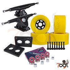 Cal 7 Longboard Flywheel 180mm Truck Bearing 97mm Yellow Skateboard Wheels