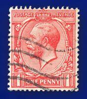 1912 SG357 1d Scarlet N16(3) Good Used axyr
