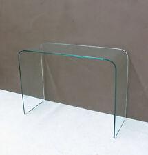 Consolle design vetro curvato 12mm - Arredamento design soggiorno SCONTO REALE