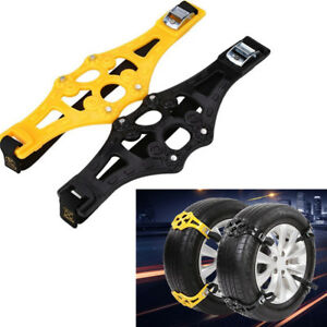 1PCS Easy Car Truck Safety Tire Wheel Anti-skid Snow Chain Ice Chain Universal