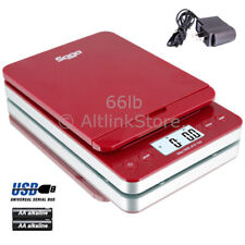 SAGA Postal Scale 86lb X 0.1oz Digital Shipping Scale Postage AC USB All In One