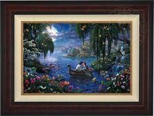 Thomas Kinkade Little Mermaid II 18 x 27 LE Gallery Proof Canvas (Burl Frame)