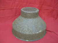 Primitive Vintage Milk Strainer/ Funnel Dairy Equipment Metal
