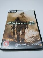 Call of Duty Modern Warfare 2 - PC - Original Box & Manual 2 discs Fast and Free