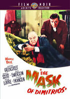 The Mask of Dimitrios DVD NEW