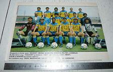 CLIPPING POSTER FOOTBALL 1987-1988 FC SOCHAUX MONTBELIARD FCSM BONAL LIONCEAUX