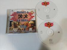 MANOS A LA OBRA 2 X CD BANDA SONORA SERIE TV MAITA VENDE CA YOLANDA RAMOS