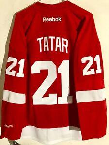 Reebok Premier NHL Jersey Detroit Redwings Tomas Tatar Red sz S