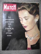 PARIS MATCH n°597 17-9-1960 CARMEN ROSAIRE⧫JEUX OLYMPIQUES⧫JOHN RUSSEL⧫LUMUMBA
