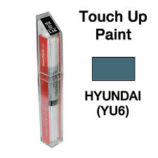 Hyundai OEM Brush&Pen Touch Up Paint Color Code : YU6 - Athens Blue