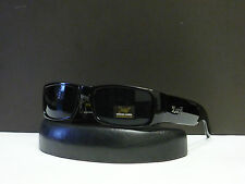 New Mens Locs Sports Sunglasses Dark Black Hardcore Shades + Microfiber Bag 9006