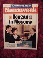 NEWSWEEK June 6 1988 RONALD REAGAN Gorbachev SPELLING PANAMA Fred Silverman +++