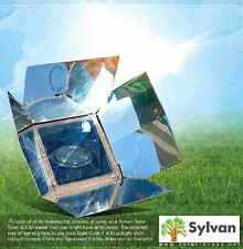 SOLAR GRILL BBQ OVEN BY SYLVAN 400 DEG MINUTES NO FUEL FREE CLEAN SOLAR COOKER