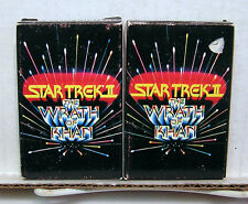 Pair of Star Trek II:Wrath Of Kahn Playing Card Deck- (L6024)
