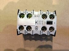 Klockner Moeller Aux Contact block 04 DIL E to suit  DIL ER-40-G Relay