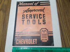 1934 1939 Chevrolet Kent Moore Approved Service Tools Catalog 1935 36 37 38 NR