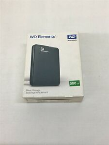 WD Elements 500 GB Simple Storage USED Good Condition (S1)(L)