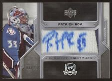2006-07 UD The Cup Patrick Roy Scripted Swatches 2 Color Jersey Patch Auto 8/25