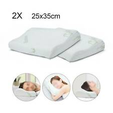 25*35Cm Bamboo Memory Foam Contour Pillow Firm Orthopedic Neck Sleep Support Kid