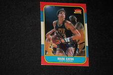 MARK EATON 1986-87 FLEER ROOKIE SIGNED AUTOGRAPHED CARD #28 UTAH JAZZ