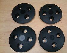 Fiat 126 Noir enjoliveurs de roues Bordure