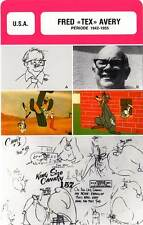 FICHE CINEMA :  FRED TEX AVERY 1942-1955 -  USA (Biographie/Filmographie)