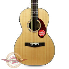 Brand New Fender CP-140SE Parlor Acoustic Electric in Natural with Case Demo