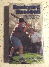 Backyard Baseball with Jim Lefebvre New Sealed VHS