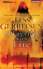 PLAYING WITH FIRE unabridged audio book on CD by TESS GERRITSEN - Brand New!