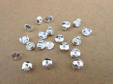 20PCS 925 Sterling Silver Butterfly BACK STOPPERS Earrings Jewelry Findings
