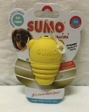 Soft Rubber Mini Play Toy XS Sumo Puppies & Small Dogs - NEW