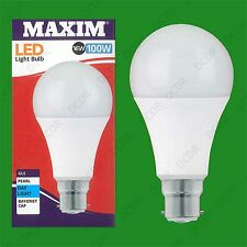 4x 16W (=100W) GLS BC B22 A70 LED Light Bulb Lamp, 6500K Daylight White 1520Lm